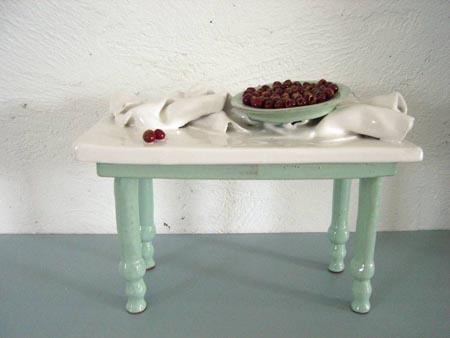 Natura morta con ciliegie